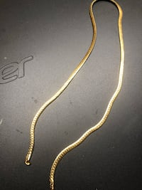 "14k 28"" Gold Snake Chain Franklin Park, 60131"