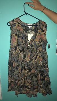 Women's brown and black sleeveless dress Warner Robins, 31093