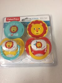 Fisher Price Pacifiers Set