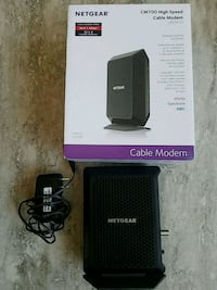 Netgear wired modem only CM700 Racine, 53403
