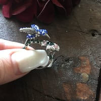 Size 7 and 8 hummingbird ring Denver, 80202
