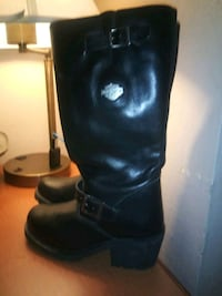 Harley davidson womens size 8 in a half. Real ones Los Angeles, 91306