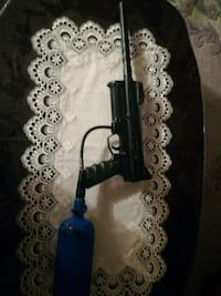 black paintball gun with blue air tank Toronto, M3A 3M3
