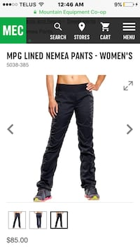 Ladies MPG lined pants Ottawa, K2G 0K4