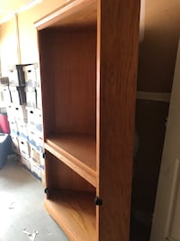 Solid oak TV corner shelf Belmont, 28012