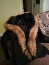 black and brown fur coat Beauharnois, J6N 2X4