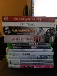 Xbox games, PC games, Opera CDs McLean, 22102