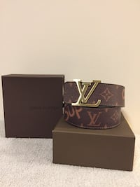 Brown LV/Supreme Belt  Mississauga, L5B
