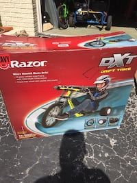 Razor dtx drift trike new in box