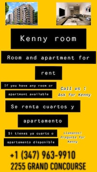Kenny room New York, 10453