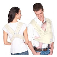 Baby K'tan ORGANIC Cotton Wrap Baby Carrier, Natural, Small Richmond Hill, L4E