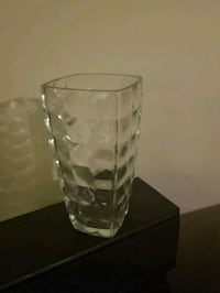 clear glass clear glass vase Ajax, L1S 7H5