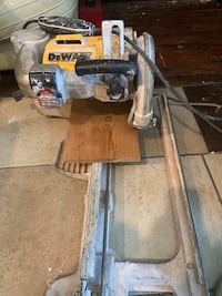 Wet and dry saw