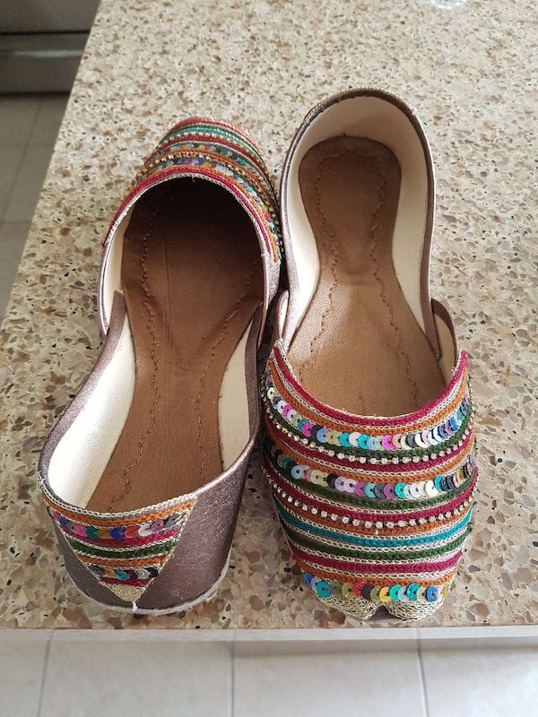 93ccdf00fb4a Used pair of multi color flats for sale in Newmarket - letgo