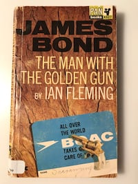 The man with the golden gun. Ian Fleming Toronto, M2R 3N7