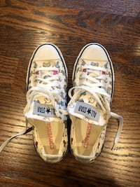 Converse Size 7.5 to 8 Lincoln University, 19352
