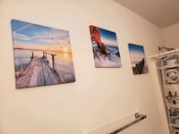 4 canvas pictures Fenwick Island