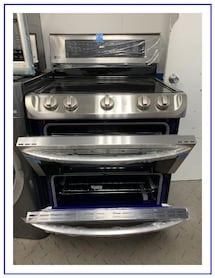LG stove (double oven) new????
