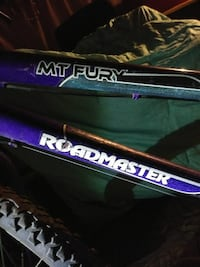 Purple and gray Roadmaster Mt. Fury bicycle Los Angeles, 91342