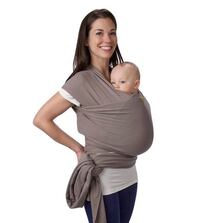 Boba Classic Baby Wrap Carrier -Gray New York, 11418
