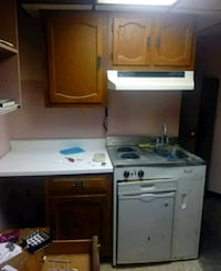 Kitchen with stove sink and refrigerator Atlantic City, 08401