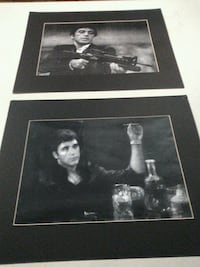 Print of a fine pencil drawing Scarface ! Very good drawing !
