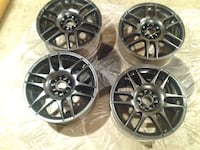 "set of 4  17"" X 7.5"" Motegi Racing alum alloy BOLIVAR"