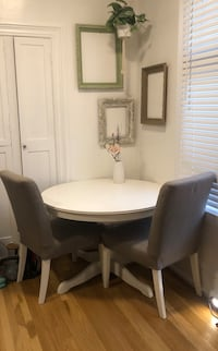 Ikea Extenable Table  & 2 chairs