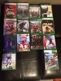 All these games work, buy individually for $4 each or all for $50 Port Moody, V3H