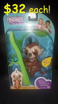Authentic Fingerling Kingsley the Sloth