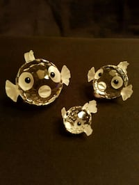 3 Swarovski blowfish each with own box Vaudreuil-Dorion, J7V 0B8