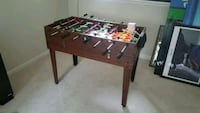 brown and red foosball table Herndon, 20171