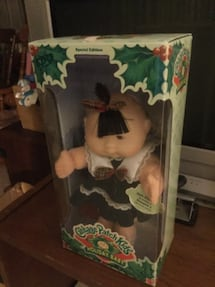 Holiday cabbage patch kid