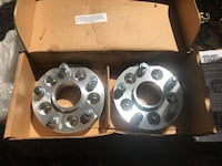 """Rough country 1.5"""" wheel spacers"""