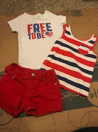 4th of July outfit 5T Tucson, 85705