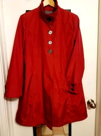 Red Women's Jacket (size L) 726 km