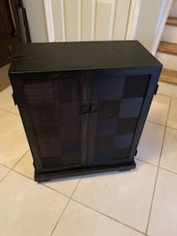 black and gray wooden cabinet 225 mi