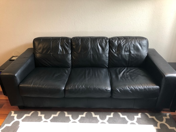 Phenomenal Ikea Black Leather Sofa Set Machost Co Dining Chair Design Ideas Machostcouk