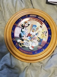 Disney special edition plate