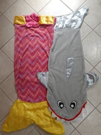 Mermaid Tail and Shark Snuggie - You get both!