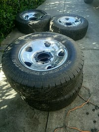 ford f250 tires LT265/70R17