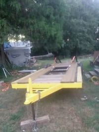 black and yellow utility trailer Anderson