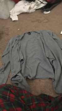 Gray cardigan type jacket. Worn a couple of times. Size S North Highlands, 95660