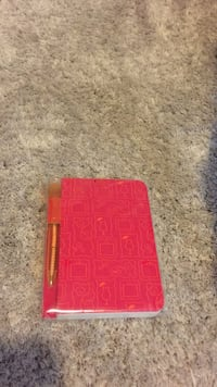 Pink/Red and Orange Mini note pad Loganville, 30052