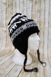Alpaca Wool Blend Winter Hat Reversible Inca Designs  Springfield, 22150
