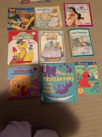 Nine great condition books Edmonton, T6T 2A5