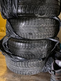 Full set of Winter tires on steal rims Gatineau, J8Y 2M1