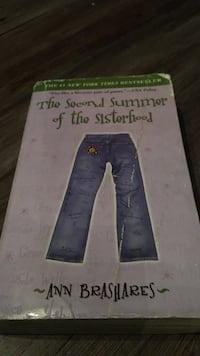 The Second Summer of the Sisterhood by Ann Brashares book Moorpark, 93021