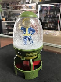 "Fall Out Fat Man Missile Fall Out 4 Snow Globe Vault Boy Nuke Christmas Bethesda ThinkGeek! 5"" inch La Habra, 90631"