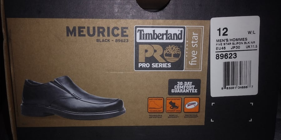 RARE, LEATHER, PERFECT CONDITION, TIMBERLAND PRO RESTAURANT SHOES MINT f403bb2b-b19c-4705-87f3-b08aa0bfaff1